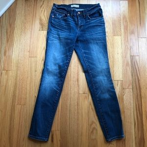 Madewell Skinny Ankle Jeans Size 28